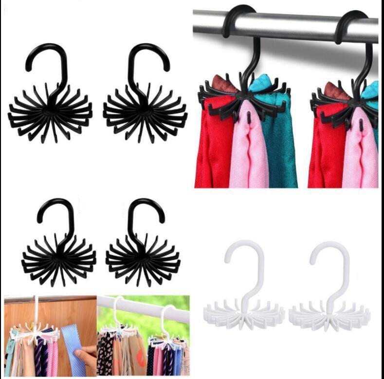 1pc Plastic Simple Shoe Drying Rack Multifunctional Clothes Shoes Tie Belt Shawl Scarf Hanger Wardrode Organizer Storage Rack Robe Hooks