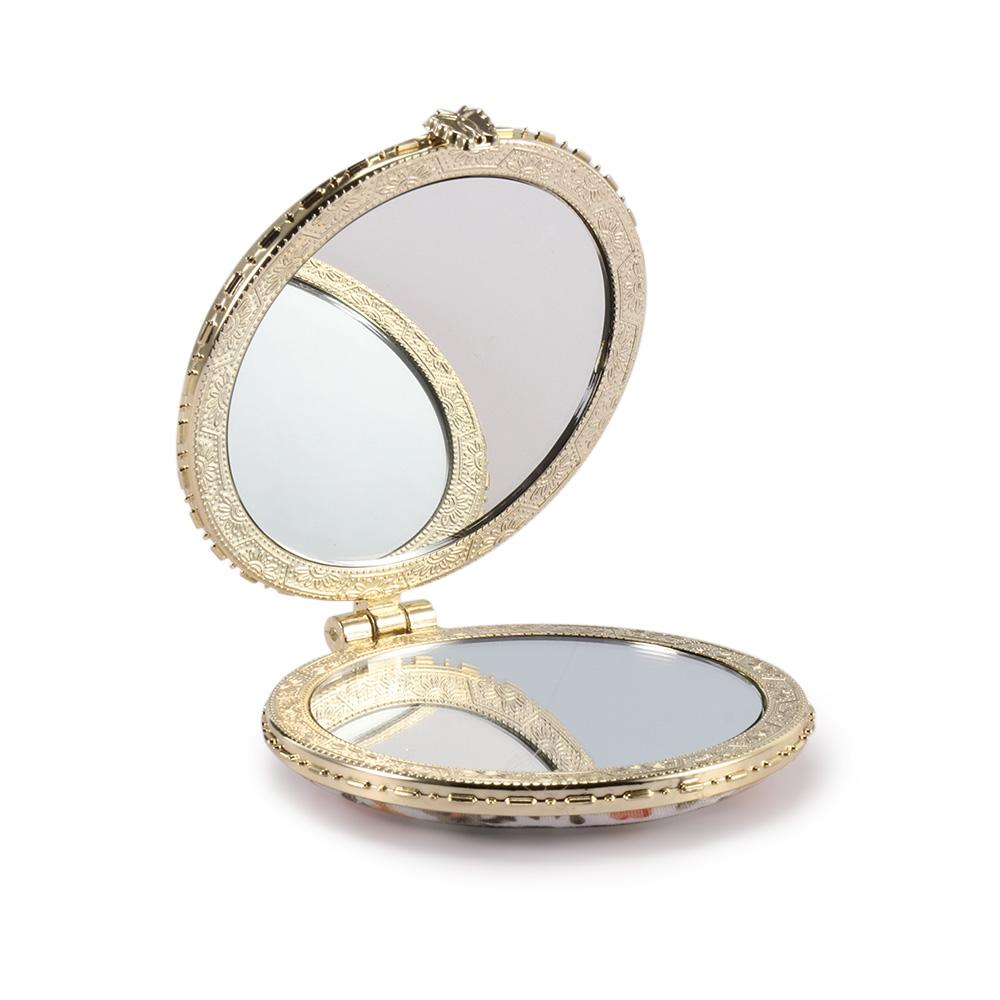 Hand mirror Vanity Vintage Hand Mirrors Pocket Mirror Mini Compact Mirrors Girl Double Side Folded Makeup Mirror Living Room Mirrors Magnifying Mirror With Light From Dhgate Vintage Hand Mirrors Pocket Mirror Mini Compact Mirrors Girl Double