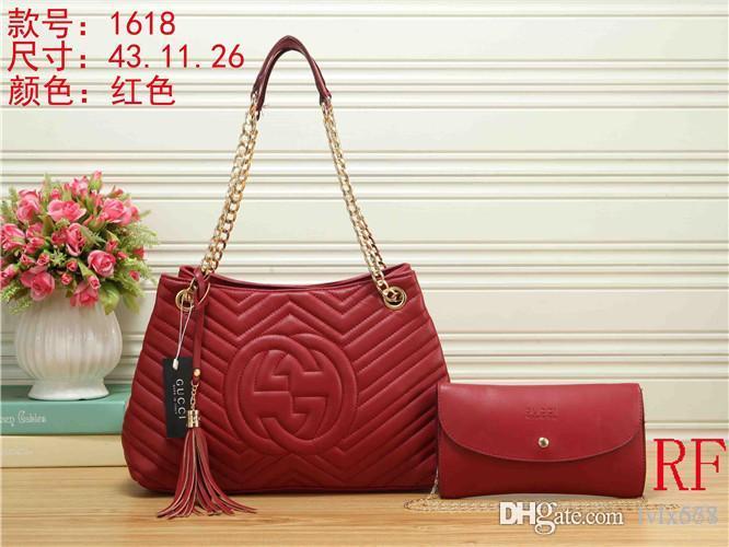 c6111a1146 2018 Styles Handbag Famous Designer Brand Name Fashion Leather Handbags  Women Tote Shoulder Bags Lady Leather Handbags Bags Purse1618 Shoulder Bags  For ...