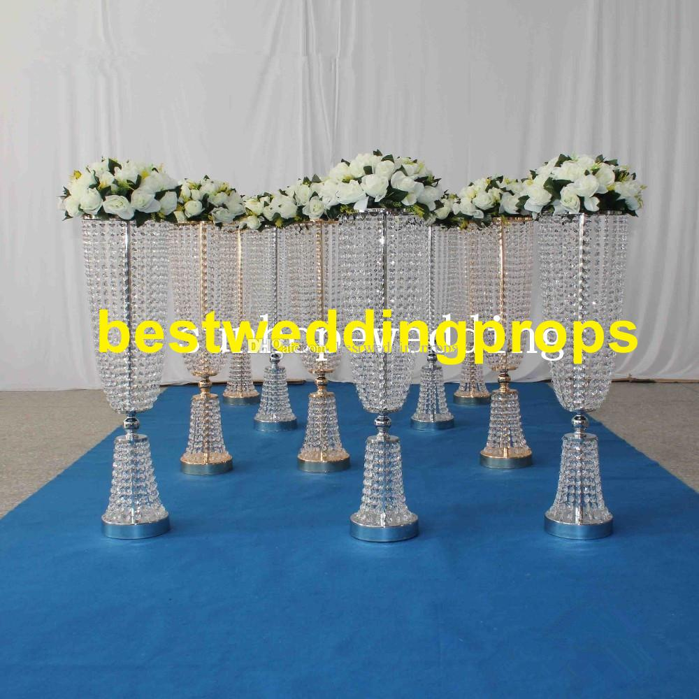new style acrylic wedding flower stand for table centerpiece event rh dhgate com