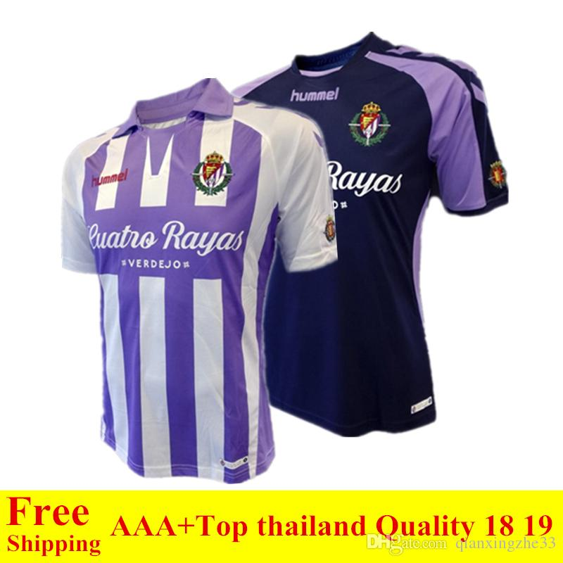 18 19 Real Valladolid Jersey 2018 2019 HOME Away Real Valladolid ... 3523071d575c2