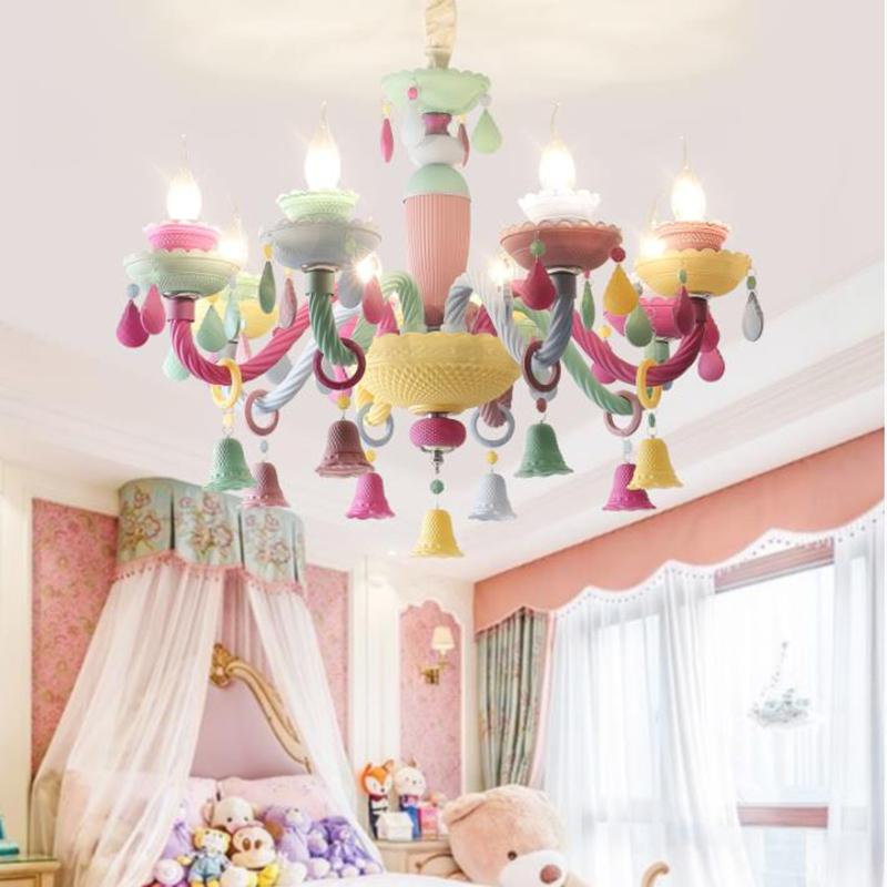 art deco cartoon colorful led crystal chandelier lights macaroon rh dhgate com
