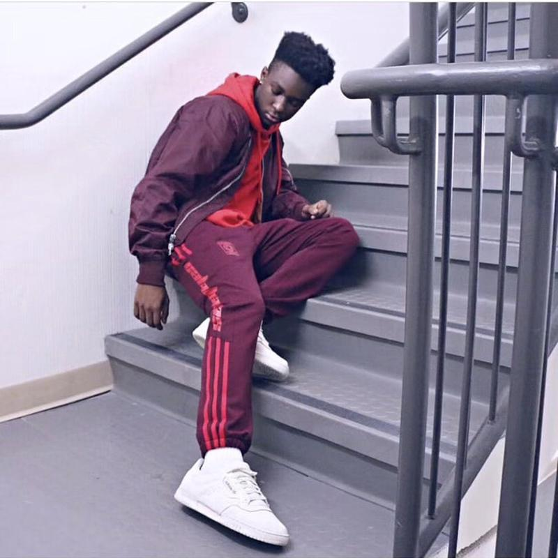 96631deed 2019 2017 Kanye West Season 4 Sweatpants Calabasas Old School Men Pants  Three Bars Trousers Fashion Hip Hop Joggers Pants Sport Men Women HFKZ001  From ...
