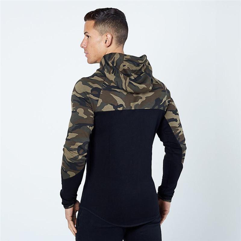 Casual Hip hop Hoodies jacket men-6