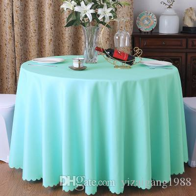 mordern polyester round table cloth fabric rectangular tablecloth rh dhgate com