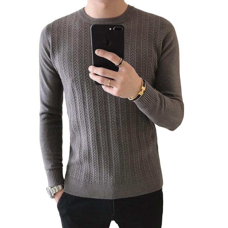 3 Acquista Pullover Homme Fit Solidi Grigio Maglioni Slim Nero Uomo PUpnqgp