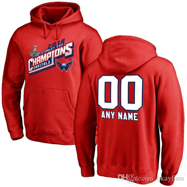 watch 6d8dc 66f91 Washington Capitals hoodies 2018 NHL Stanley Cup Champions Ovechkin Oshie  Holtby Wilson Kuznetsov Smith-Pelly Nicklas Backstrom sweatshirts
