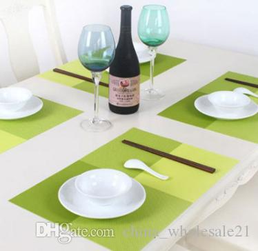 2018 new arrival eco friendly pvc table mat heat insulated tableware rh dhgate com
