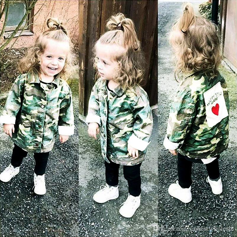 850e98f65 Baby Clothing Baby Boys And Girls Camouflage Jackets Kids Denim ...
