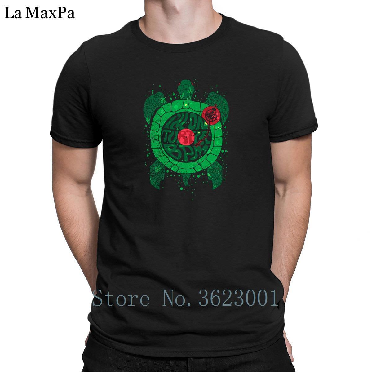 Creature S-3xl T-Shirt On Turtle Bpm Men's T Shirt Fun Spring Autumn Tee  Shirt Man Hiphop Top Tee Shirt Man Pictures Building