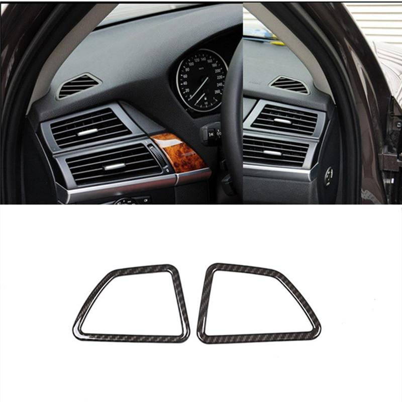 88aee71d2e4 ABS Styling Dashboard Air Conditioner Outlet Decoration Frame Car  Accessories Cover Trim Strip For BMW X5 E70 X6 E71 Sports Car Interior  Truck Accessories ...