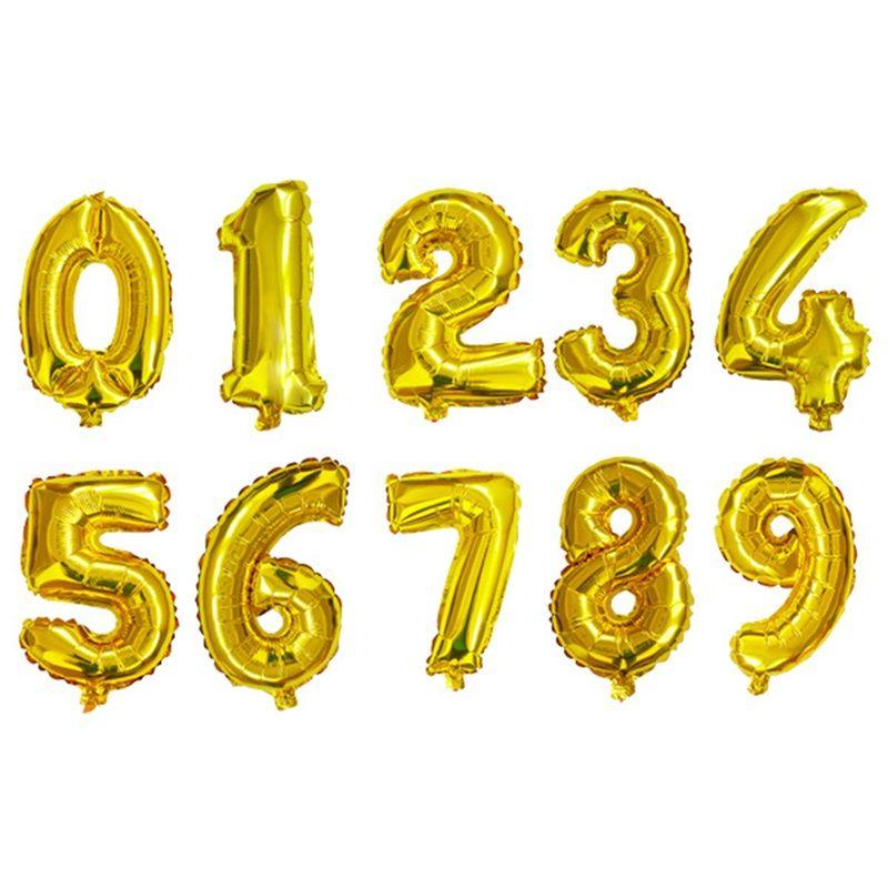알루미늄 호 일 풍선 16inch 아랍어 0 웨딩 크리스마스 생일 파티 장식에 대 한 0 0 패션 풍선 선물 0 42zz YY