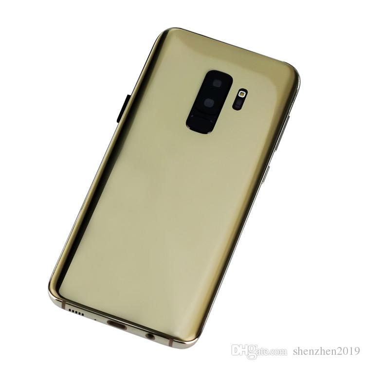 6.2 inch Full Screen Goophone 9 Plus With Fingerprint Android 6.0 1GB/16GB Show fake 4GB RAM 64GB ROM Fake 4G LTE Unlocked Cell Phone