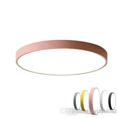 multicolour modern led ceiling lamp round super thin 5cm ceiling rh dhgate com