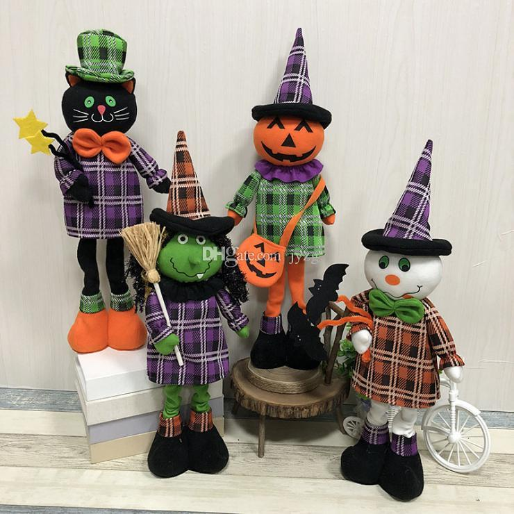 2019 halloween doll ornaments children gifts party halloween pumpkin rh dhgate com