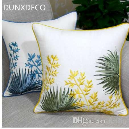 dunxdeco cushion cover decorative pillow case country style garden rh dhgate com