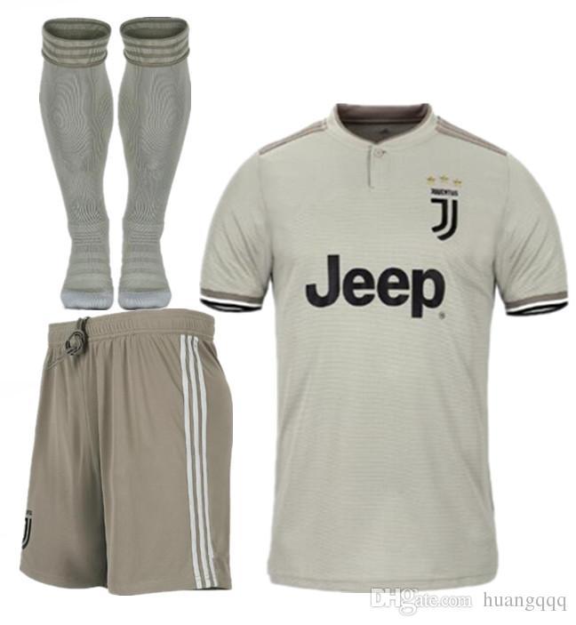 low priced 74143 e8743 Juventus 2018-19 season away jersey JUV CUADRADO MARCHISIO RUGANI BENTANCUR  STURARO PJANIC DYBALA MATUIDI MANDZUKIU BARZAGLI Soccer suit