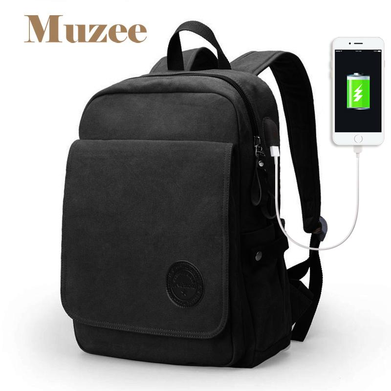 a2d25ab6e22d Muzee 2018 New Student 15.6 Inch Laptop Backpack High Capacity Backpack  Fashion Casual Canvas For Teenagers Mens Backpacks Swiss Army Backpack From  ...