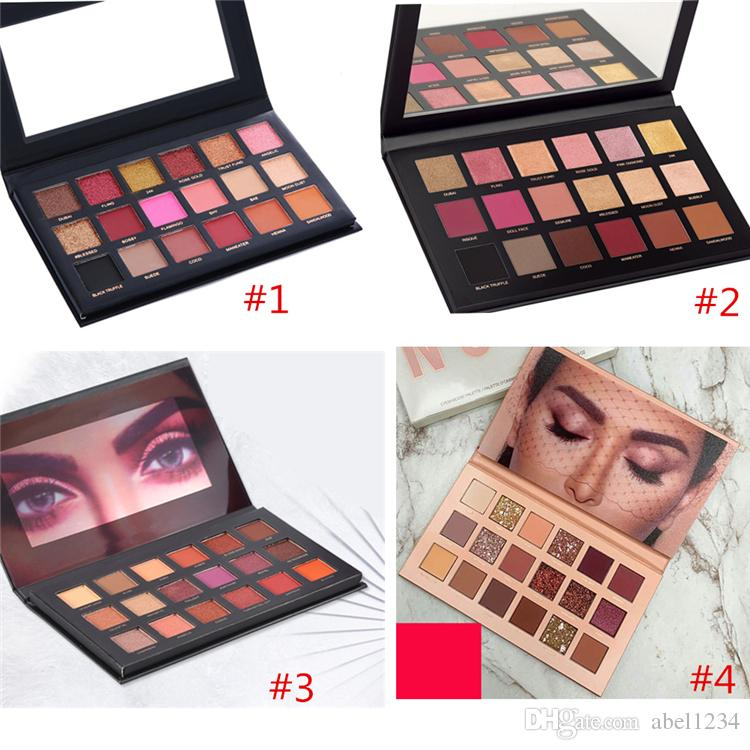2018 Make up Beauty Eyeshadow Palette NUDE Rose Gold Textured Palette Makeup Eye shadow Beauty Palette Matte Shimmer