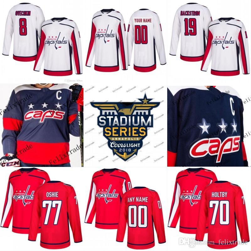2019 Women Washington Capitals Caps 2018 Stadium Series 8 Alex Ovechkin 77  TJ Oshie 19 Nicklas Backstrom 70 Braden Holtby Hockey Jerseys From  Felixtrade 79c3b6a063