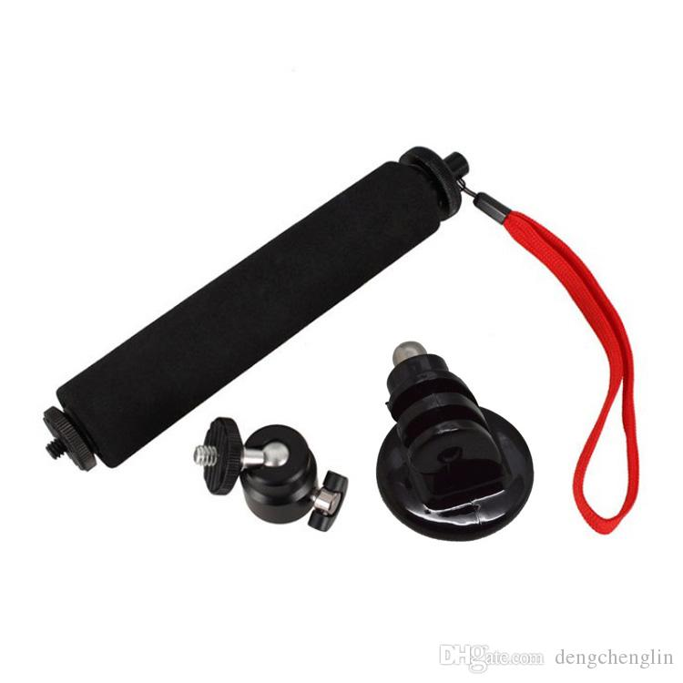 Action camera accessories High-strength aluminum alloy camera handheld self-stick camera portable retractable Selfie with anti-lost rope