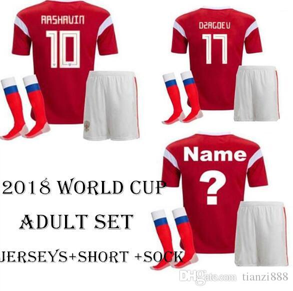 best website 55506 f0132 2018 quality Russia World Cup national team Argentina Espana Uruguay  Iceland Colombia Russia Fr ance and socks