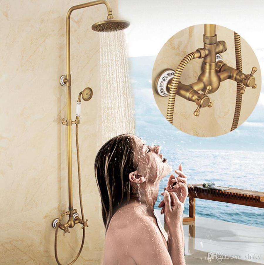 2019 new shower set wholesale copper material european vintage rh dhgate com