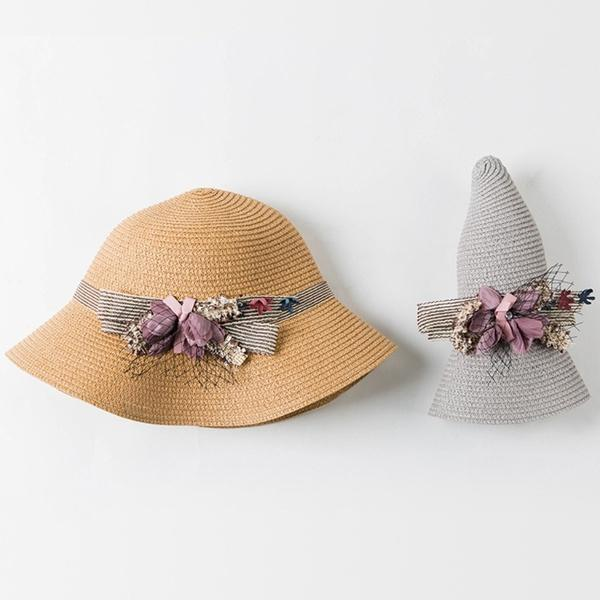 403d37f4f2b Womens Boho Straw Sun Hat Flower Lace Foldable Wide Brim Floppy Beach  Summer Cap CRA Easter Hats Fur Hats From Participant