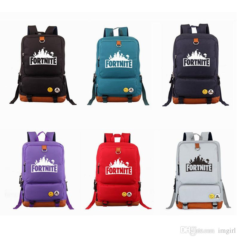 b1c6785ec4 2019 Fortnite Battle Royale Travel Backpack Unisex Kids School Shoulder  Bags Backpack Teenager Students Bag Sports Tote Xmas From Imgirl