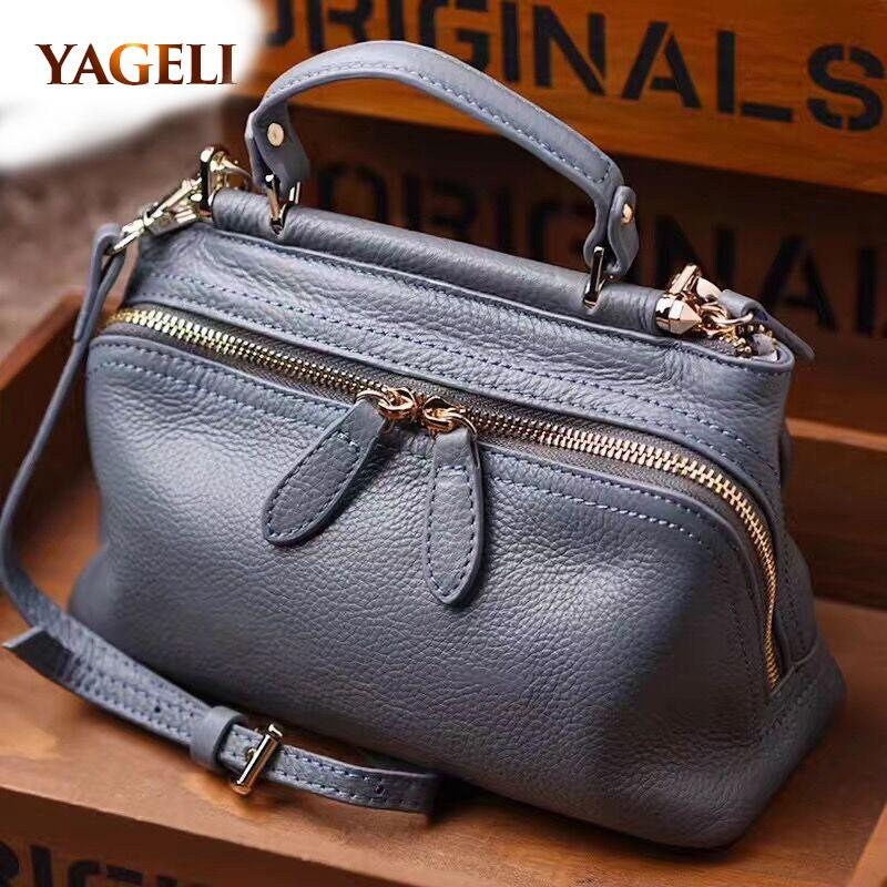 d1cb0f98c75c Famous Brands Designer Tote Bag High Quality Ladies  Hand Bags Genuine  Leather Women S Handbags Luxury Handbags Women Bags Y18102403 Designer  Handbags On ...