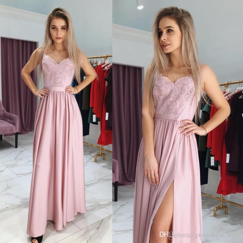 Hot Peach Prom Dresses