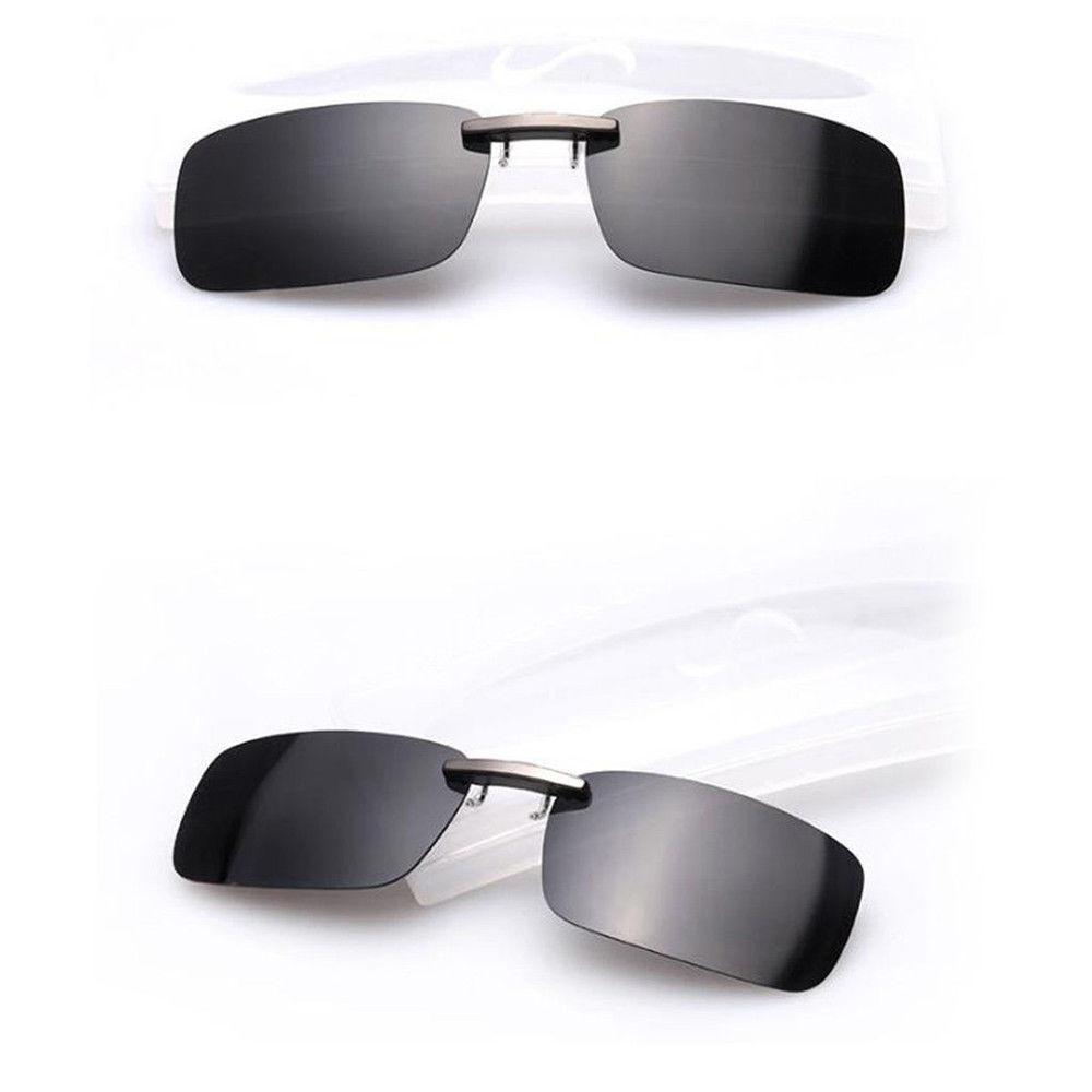df66dbc675 Polarized Sunglasses Clip On Driving Glasses Day Night Vision Lens For  Myopia Glasses UV400 Fishing Trip Travel Womens Mens Sunglases Cheap  Designer ...