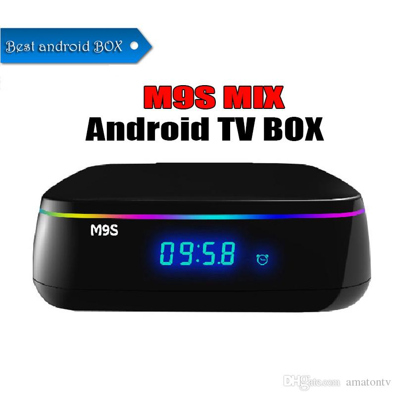 2019 Octa Core amlogic S912 2GB/16GB TV Box WIFI Android IPTV BOX M9S MIX  Support H265 Europe Arabic IPTV Channels Media Player