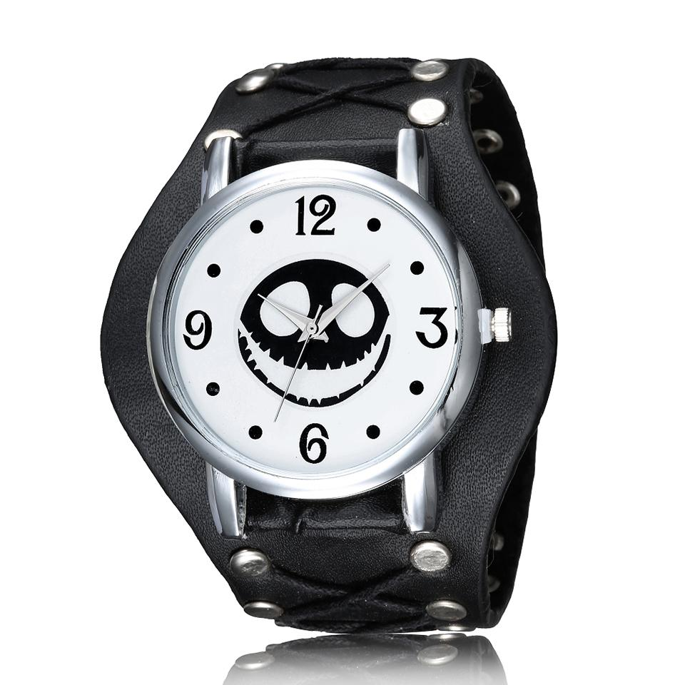 Cool Men Watch Halloween Motif The Nightmare Before Christmas Punk ...