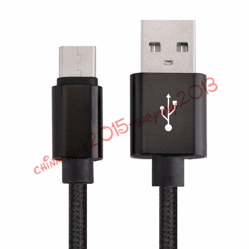 fabric cable Micro V8 5pin braided nylon usb data & charging cable for samsung s4 s6 s7 mobile phone