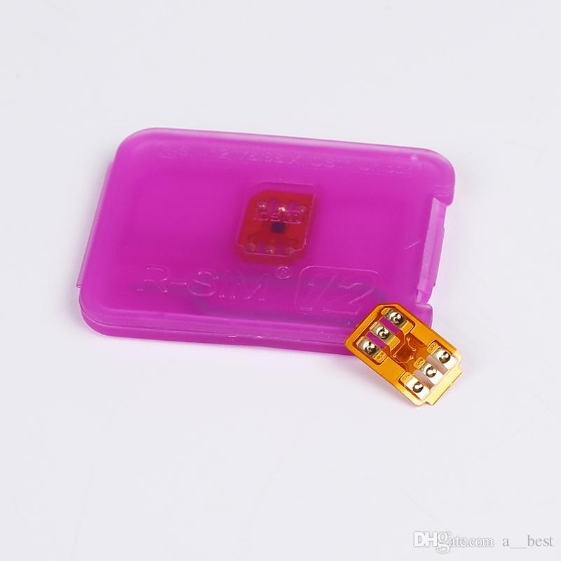 Rsim 12 r sim 12 RSIM12 unlock card v9.6.3 for iphone x 8 7 plus and i6 unlocked iOS 11 ios 11.x-7.x 4G CDMA GSM WCDMA SB AU SPRINT