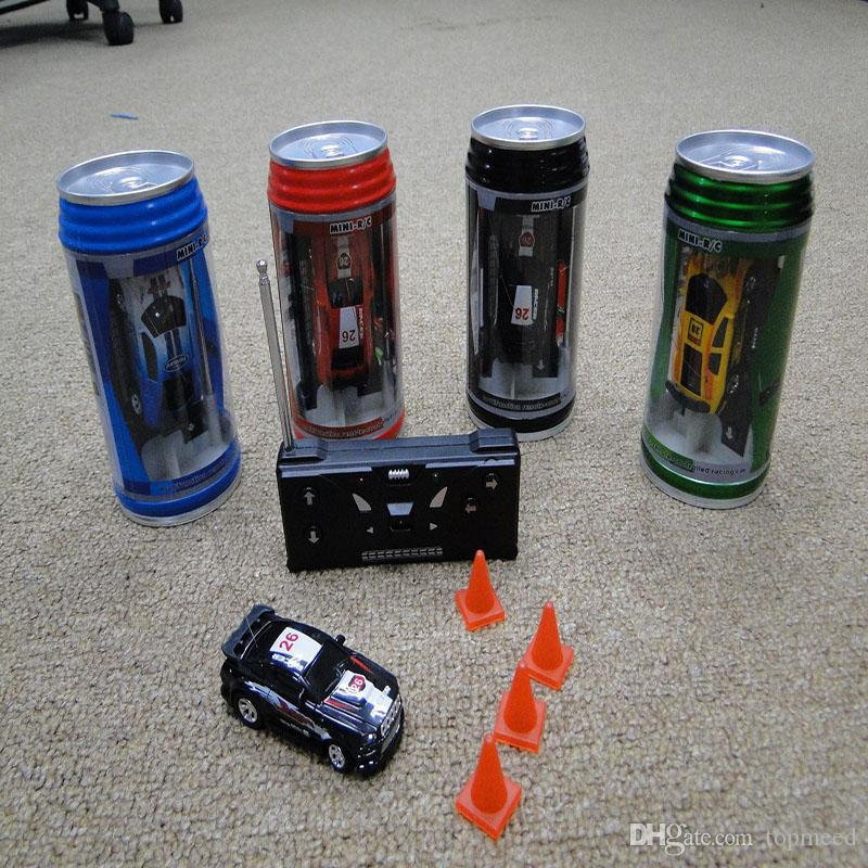 Rc cars Mini-Racer Remote Control RC car Coke Can Mini RC Radio Remote Control Micro Racing 1:63 Car 8803