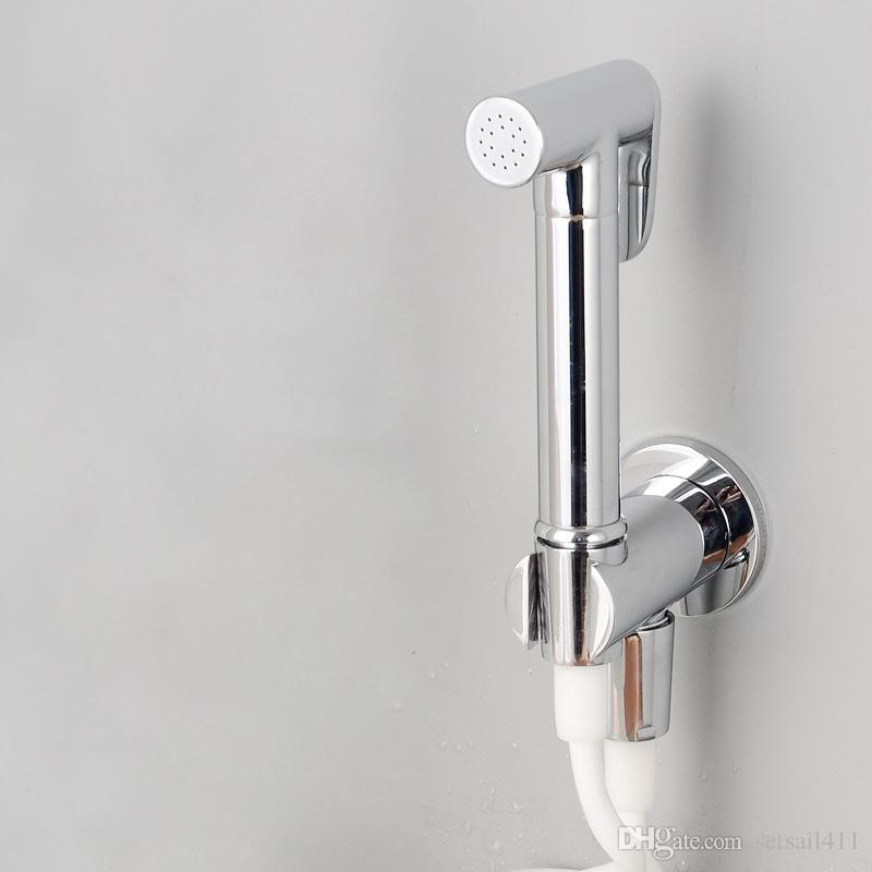 2018 Handheld Toilet Bidet Sprayer Set Hand Bidet Faucet Brass For Bathroom Hand  Shower Self Cleaning With Shower Hose And Holders From Setsail411, ...