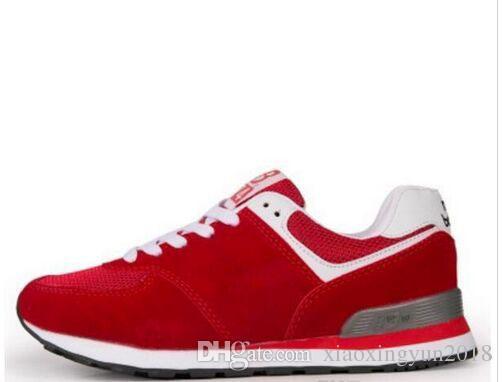364b312ea Compre Nuevo Resorte Barato Unisex Zapatos Hombres Mujeres Zapatos De Malla  Transpirable Movimiento Hombre Mujer Moda Casual Balancedn 574 Amantes De  Los ...