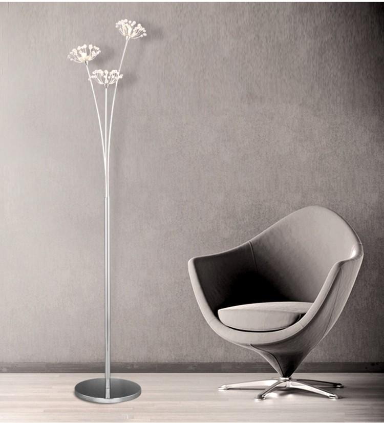 Best new modern crystal floor lamp for living room flower decorative new modern crystal floor lamp for livingg aloadofball Gallery