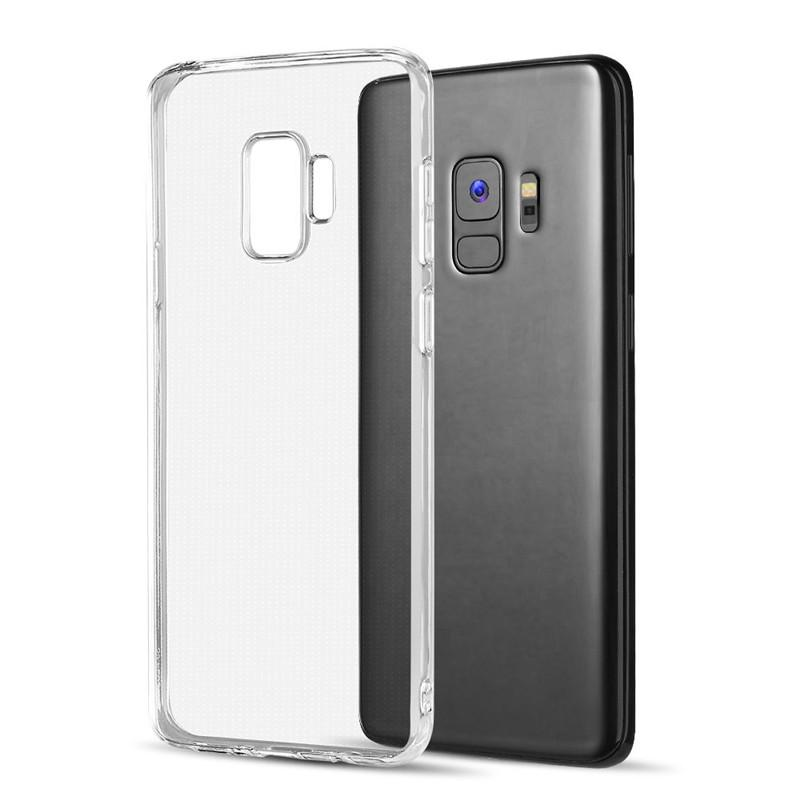 sale retailer b7023 428aa Soft Clear TPU Case for Galaxy S9 Plus Top Quality Transparent Gel Rubber  Phone Cover for Samsung G9600 Factory Price
