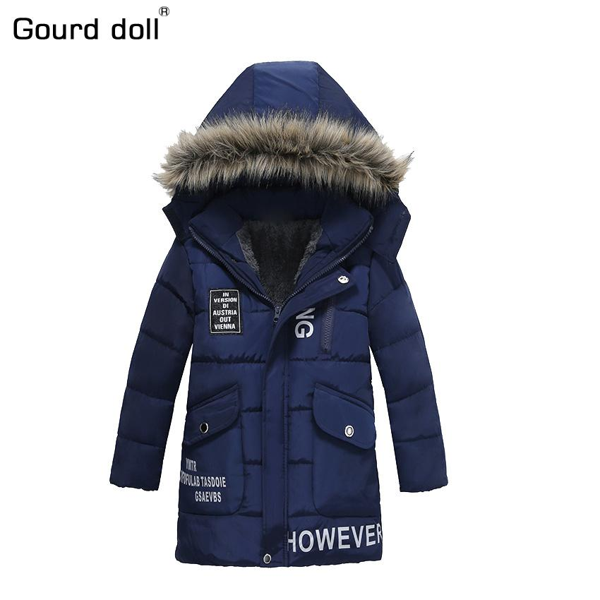 bb9abaddf Gourd Doll 2017 Spring Winter Boys Jacket For Boys Children Clothing ...