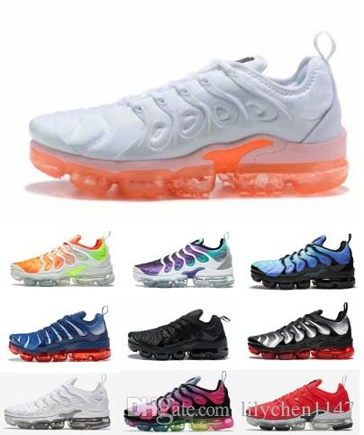972e597bee2fa TN Plus VM Running Shoes Classic Outdoor Run Shoes Tn Black White ...