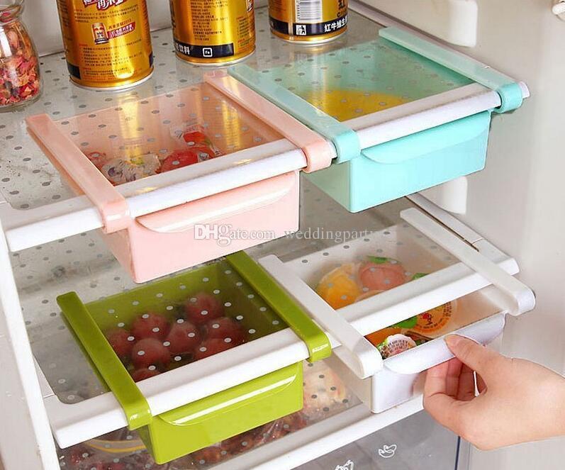 Kühlschrank Organizer : Großhandel slide regal schublade küche kühlschrank tisch storage