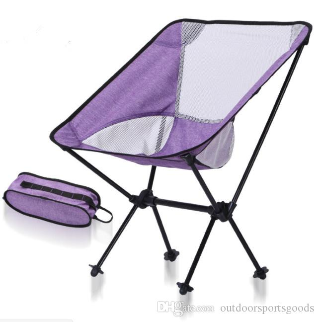 Outdoor Camping Folding Chair For The Export Of Ultra Light Portable Moon  Chair, Aviation Aluminium Alloy Fishing Chair, Leisure Beach Chair Teak  Garden ...