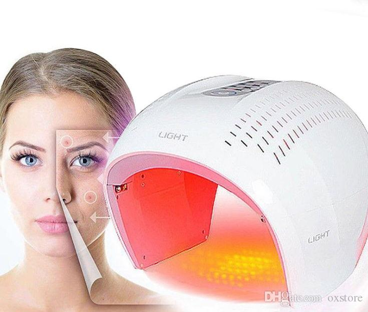 2018 Newest Led Light Therapy Face Mask Red Blue Purple