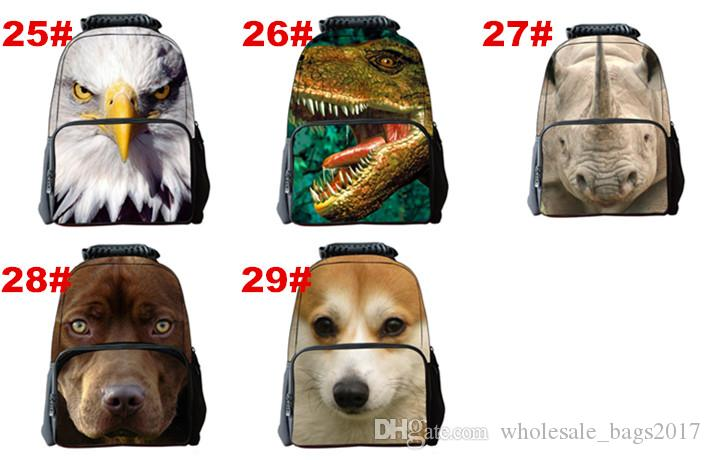 29 stilleri Moda Sırt Çantası Çocuk Çocuk Schoolbag Geri Paketi Sırt Çantası Laptop için Seyahat Çantaları Okul Genç Kız Erkek