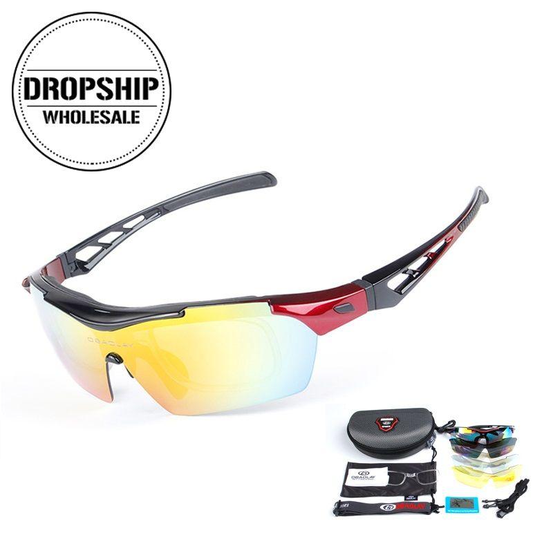 1197a9c0f0 COOL Hombres Deporte Ciclismo Gafas Polarizadas Montar Gafas De Sol Al Aire  Libre Mujeres MTB Bicicleta UV 400 Gafas Para Correr Pesca Conducción Por  ...