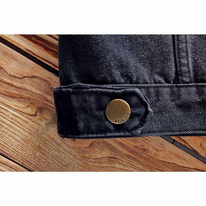 Abnkarwin2018 New Spring Denim Jeans Uomo Giacca monopetto Solid Fashion Casual Man Jacket Cappotti 5XL