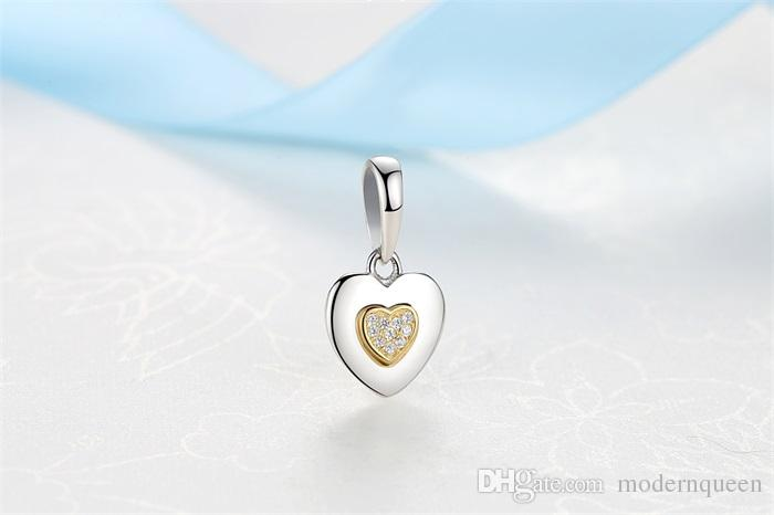 688590067 2019 Signature Heart Charms Pendant 925 Silver Fits For Pandora Style  Bracelet 397376CZ H9 From Modernqueen, $7.41 | DHgate.Com
